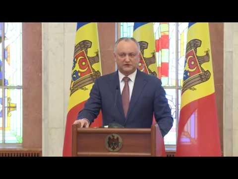 Declarația Președintelui Moldovei cu privire la rezultatele alegerilor parlamentare