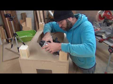 Easy litter box cabinet