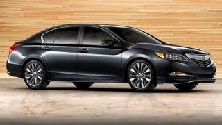 2014 Acura RLX - 2012 LA Auto Show -- Edmunds.com