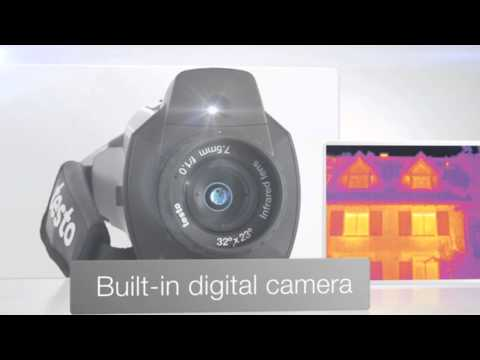 Camcorder Thermal Imaging Camera | Testo 876 Video Image