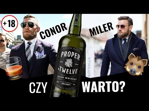 Sobowtór Conora McGregora Ocenia Jego Whiskey! *Jak Smakuje Proper Twelve Irish Whiskey?*