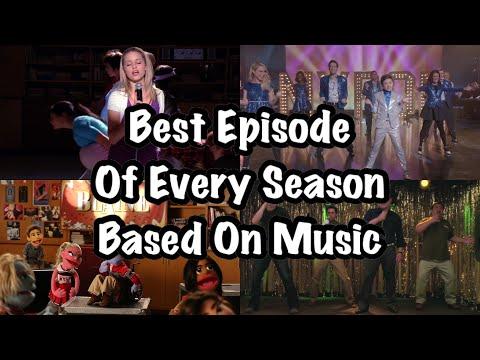 GLEE~ Best episode in every season (based on music)