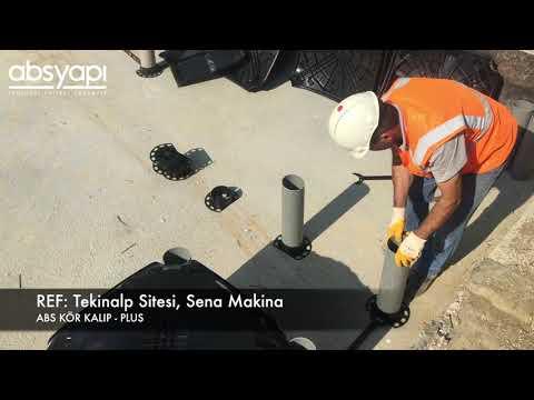 ABS Kör Kalıp – Plus: Tekinalp Sitesi, Sena İnşaat Uygulama Videosu