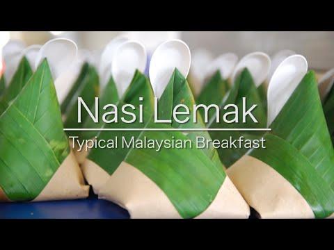 What is Nasi Lemak - Malaysian Breakfast