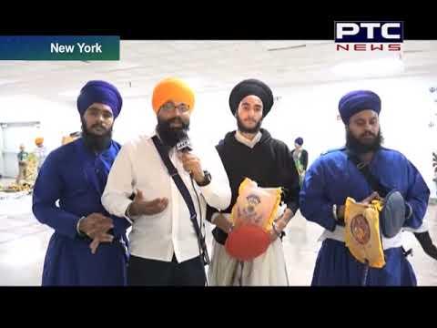New York ;Gatka Training in Gurduwara Sikh Cultural Society
