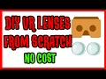 DIY VR Lenses from scratch   How to make VR Lens at Home