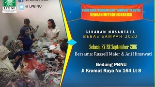 Peresmian Kantor Bank Sampah Nusantara (BSN) LPBI NU