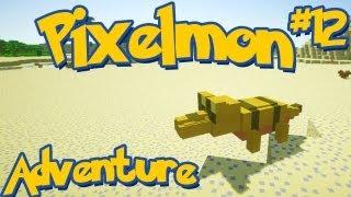 Pixelmon Minecraft Pokemon Mod! Adventure Server Series! Episode 12 - Huge Yellow Boss Sandile!
