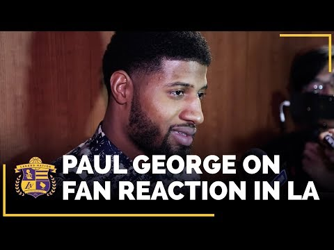 Video: Paul George Speaks Highly Of Lakers Young Core, Fan Reaction In L.A.