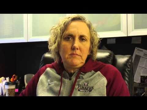 Helen Higgs women's basketball Feb. 16, 2015