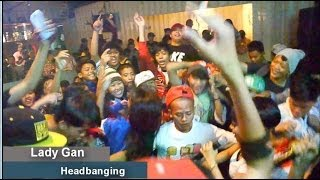 Lady Gan - Headbanging (Live in MANTRA Album Launching)