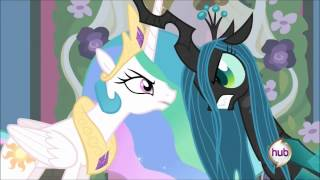 Princess Celestia vs. Queen Chrysalis