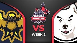PML 2019 - North America - Week 2 - Team Zenith vs BOORK