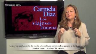 Carmela Diaz, autora de 'Los viajes de Jimena'. 10-12-2014