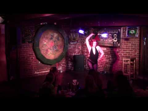 Staff burlesque with Inaya Renarde at the DC Weirdo Show March 2017