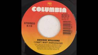 """The instrumental version of Deniece's infectious 1988 dancefloor hit """"I Can't Wait""""...Copyright disclaimer: I do NOT own this music or the images featured in the video. All rights belong to the rightful owners. No copyright infringement intended."""