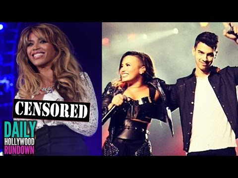 slip - More Celebrity News ▻▻ http://bit.ly/SubClevverNews Beyonce has a wardrobe malfunction, Demi Lovato & Joe Jonas sing together for the first time in 4 years, Ariana takes over SNL & George...