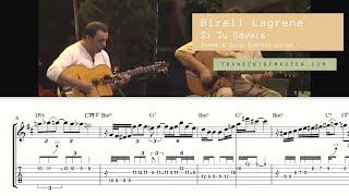 Download Lagu Bireli Lagrene – Si Tu Savias , solo transcription Mp3