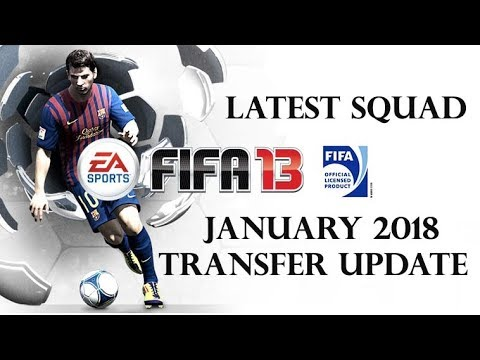 FIFA 13 PC Latest Transfer Update January 2018 Download-Mediafire Link Career Mode Working