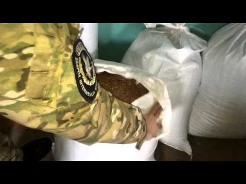 Chwaszczyno. Znaleziono nielegalny tytoń warty milion złotych