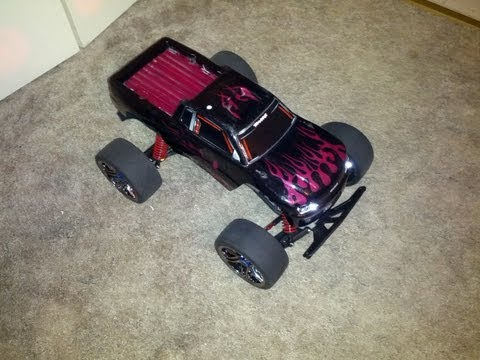WIFEY'S WORLD'S FIRST 100MPH STAMPEDE-Set-up
