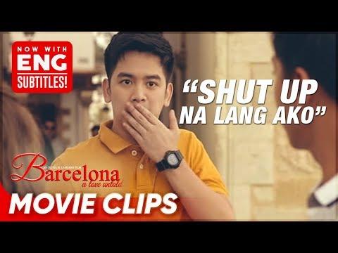 BALIKAN: Joshua, napa-'shut up na lang ako' sa KathNiel! | Barcelona | Movie Clips