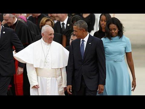 ΗΠΑ: Ξεκίνησε η επίσημη επίσκεψη του Πάπα
