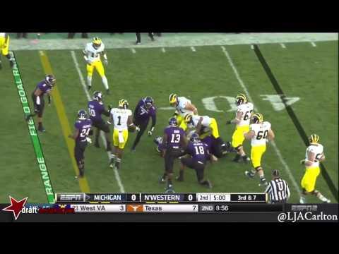 Ibraheim Campbell vs Michigan 2014 video.