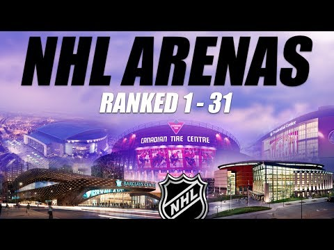 NHL Arenas Ranked 1-31 (outside)