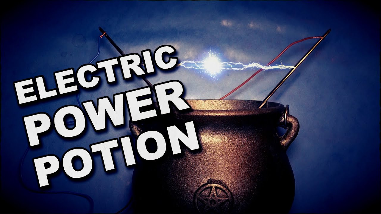 How To Make An Electricty Power Potion