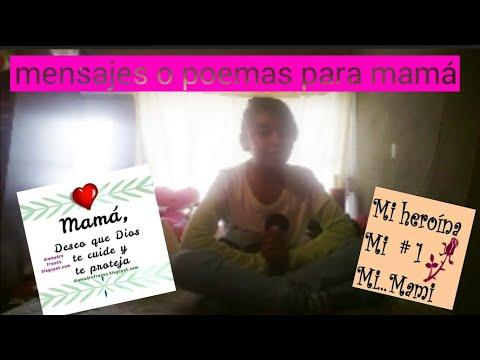 Poemas cortos - Poemas para mamá/Lesly Yañez