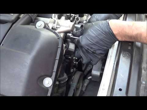 10-19-13 2002 BMW 325 code P0128 repair how to replace the thermostat