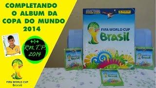 Especial - Copa do Mundo FIFA Brasil 2014Depois de muito tempo, muita luta, e muito dinheiro gasto, consegui completar o Álbum da Copa do Mundo 2014.Não postei o Vídeo antes, por problemas na Internet, mesmo assim SE LIGA !!!