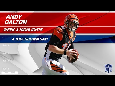 Video: Andy Dalton's Amazing 4 TD Day vs. Cleveland! | Bengals vs. Browns | Wk 4 Player Highlights