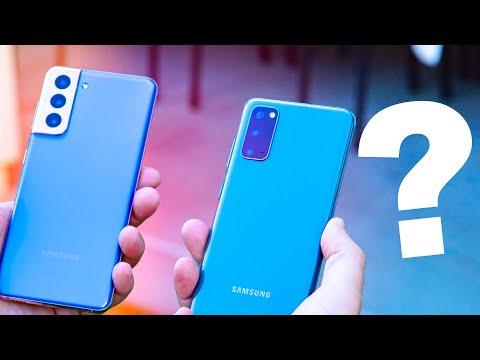 Samsung Galaxy S21 vs S20: don't make a mistake!