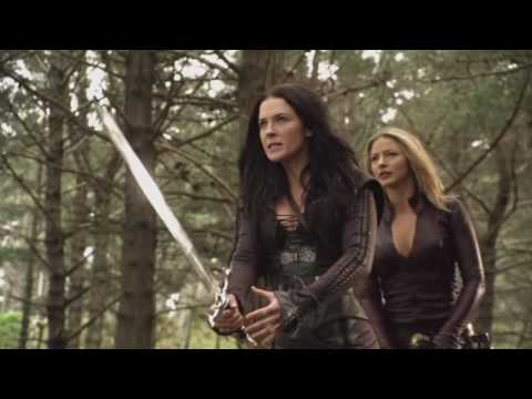 Legend of the Seeker Battle - Kahlan and Cara