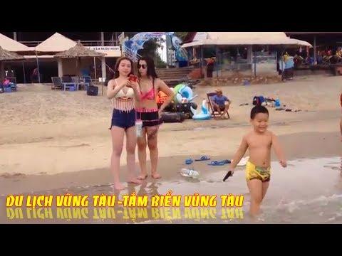 Tắm Biển Vũng Tàu tại bãi sau Khu Du Lịch Biển Đông