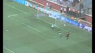 Em 2005, Atlético-PR goleia por 4 a 0 Palmeiras pelo Campeonato Brasileiro. Furacão não dá chance ao Verdão na Arena da Baixada. Lima marca dois gols, seguido por Denis Marques e Finazzi.