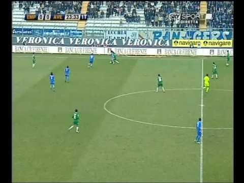 Empoli-Avellino gol di Nando Sforzini