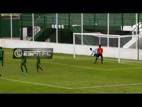 Sarmiento 3 - Racing 2 / Segundo gol de Braian Guille para la Reserva