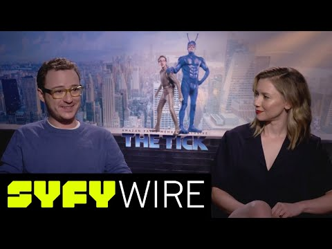 The Tick's Valorie Curry and Griffin Newman on Secret Identities and Costumes | SYFY WIRE