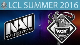 NaVi.CIS vs RoX, game 1