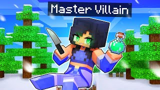 Playing Minecraft as the MASTER Villain!