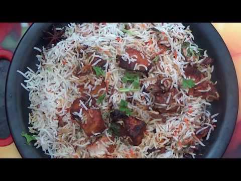 CHICKEN TIKKA BIRYANI MUMBAI RESTAURANT STYLE || tikka biryani full recipe || HD VIDEO