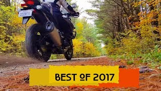 7. MY BEST MOMENTS OF 2017 - SUZUKI V-STROM 1000