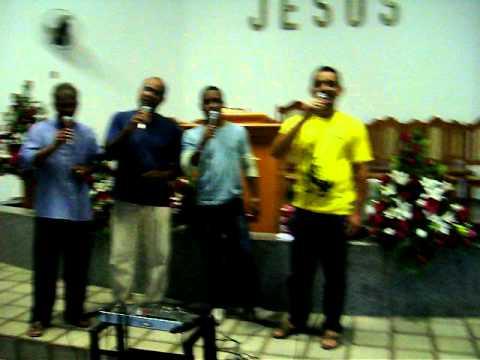 Ensaio do quarteto Paz em Fundão