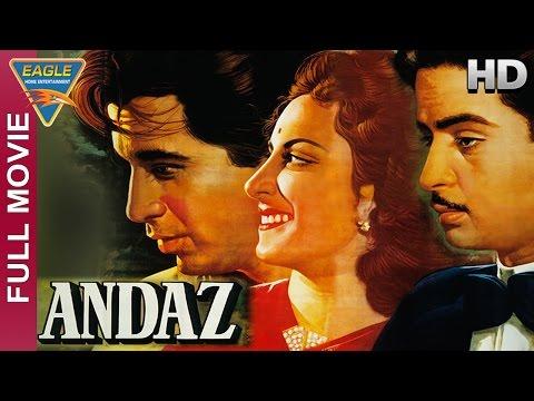 Video Andaz Hindi Full Movie HD || Dilip Kumar, Raj Kapoor, Nargis || Hindi Movies download in MP3, 3GP, MP4, WEBM, AVI, FLV January 2017