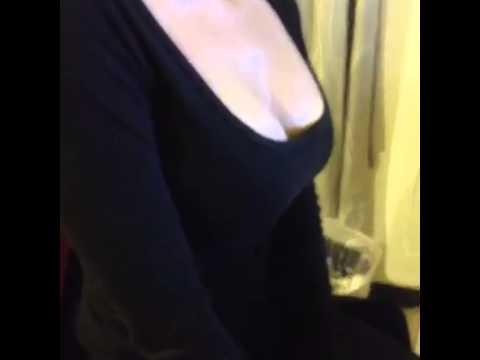 胸部會跳舞的正妹!