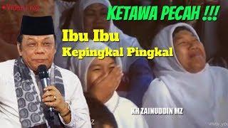 Video Waduh Ibu Ibu Ketawa Terpingkal Pingkal Ngakak - Live KH Zainuddin MZ MP3, 3GP, MP4, WEBM, AVI, FLV Juni 2019