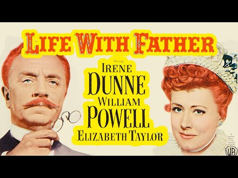Life with Father (1947) Elizabeth Taylor   Classic Comedy Color Film